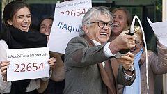 El 22.654, primer premio de loteria de El Niño, ha estado muy repartido