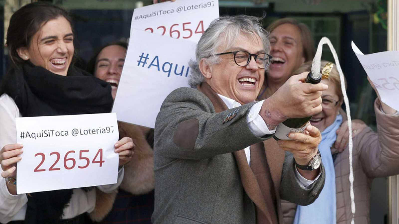 El 22.654, primer premio de loteria de El Niño