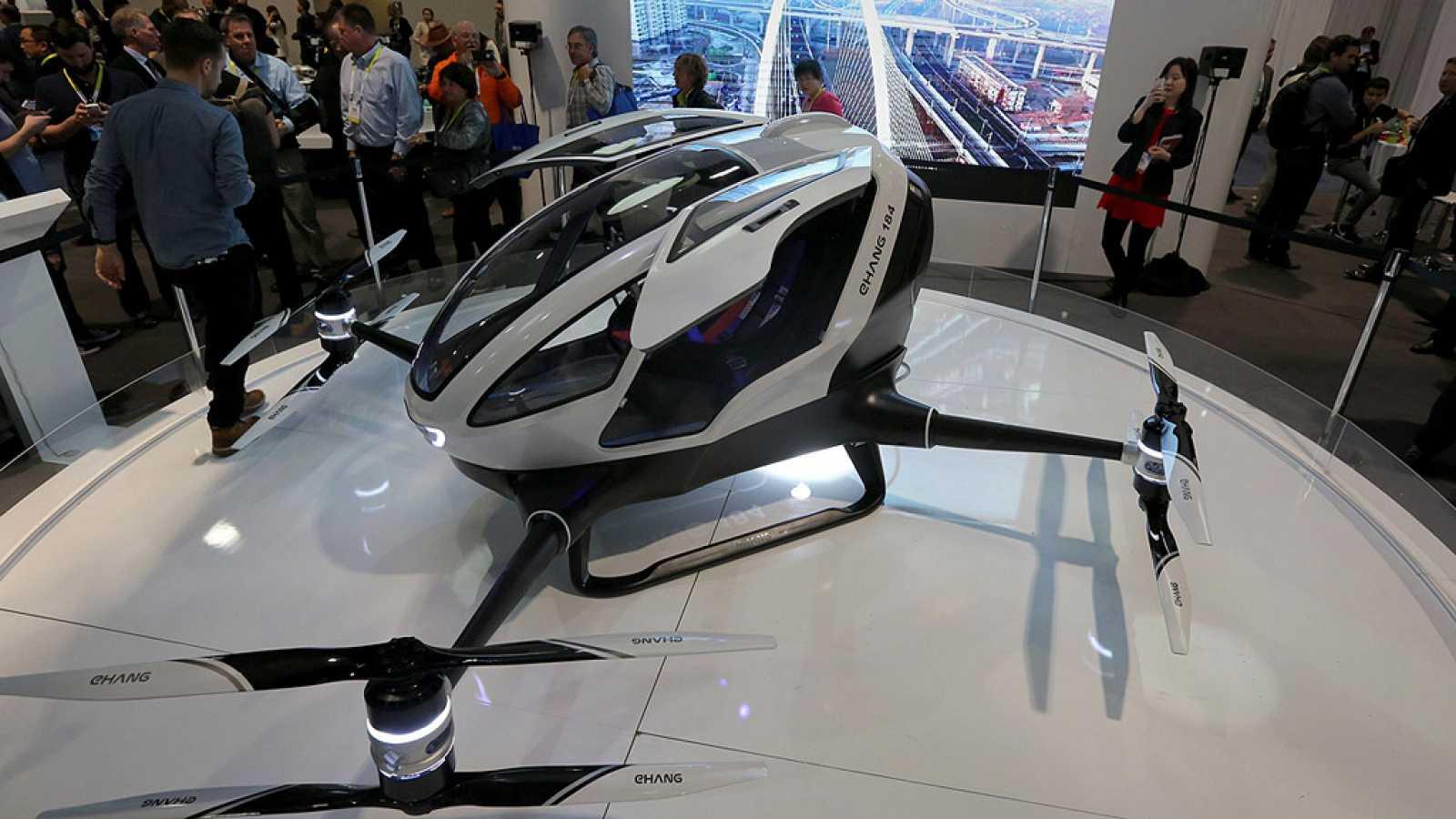 Presentan el primer dron no tripulado que podría transportar a un pasajero