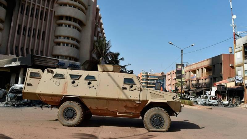 Las tropas de Burkina contaron con el apoyo de Francia y EEUU para abatir a los terroristas