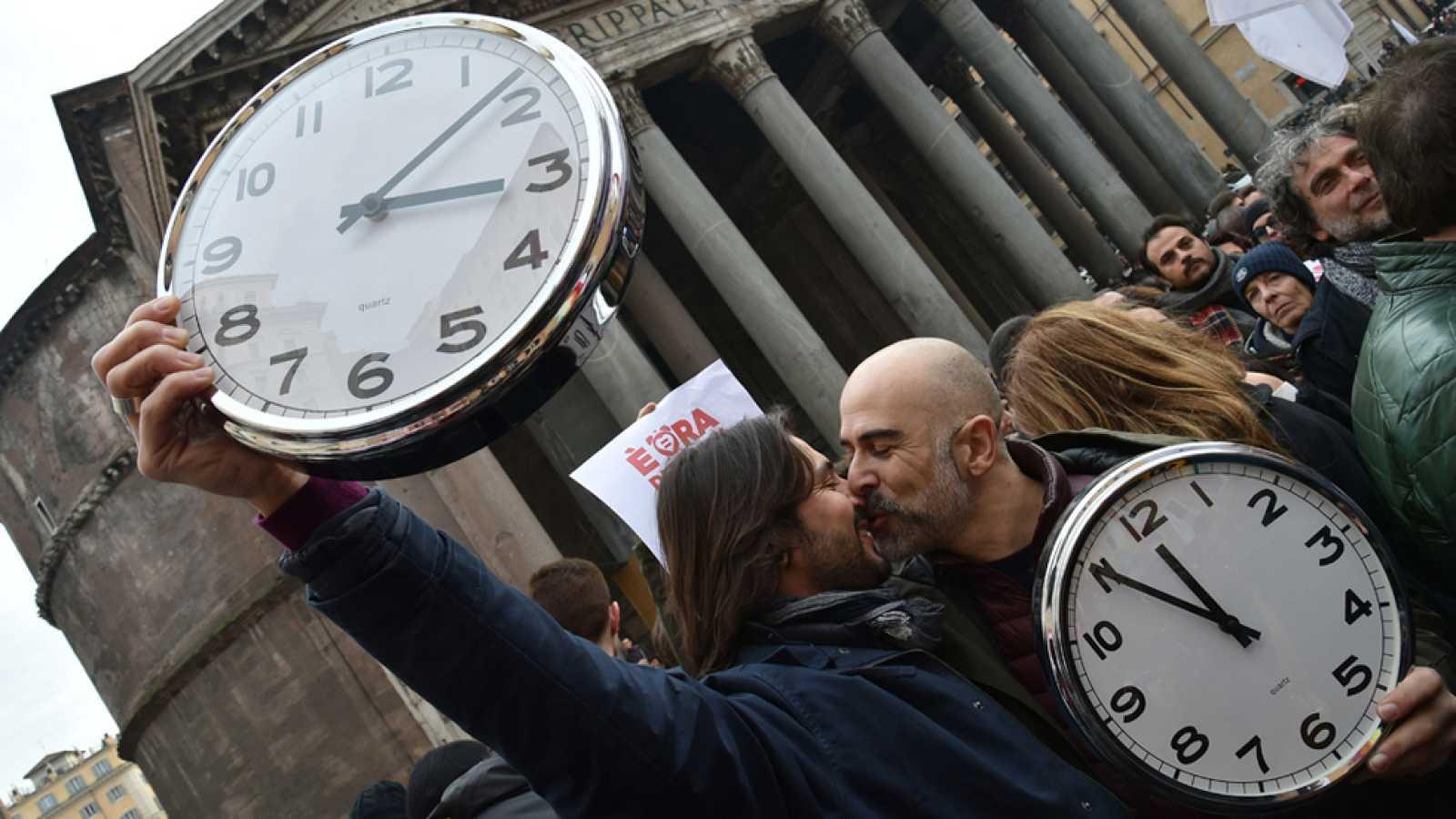 Italia prepara reconocer las uniones civiles entre homosexuales