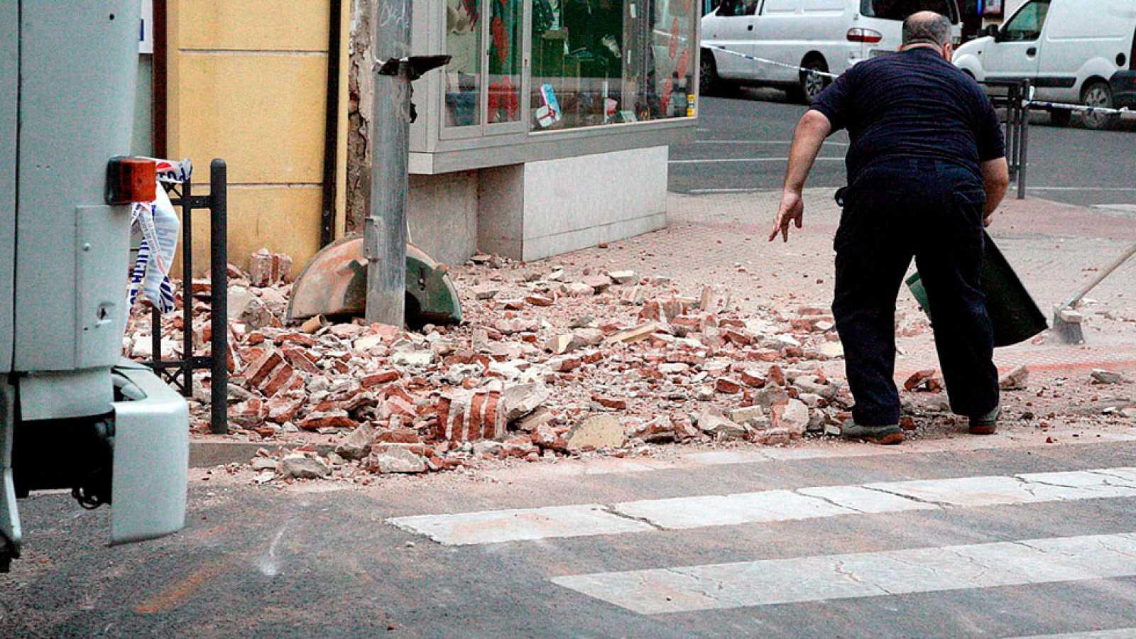 Al menos 26 heridos leves en Melilla a causa de un terremoto de 6,3 grados