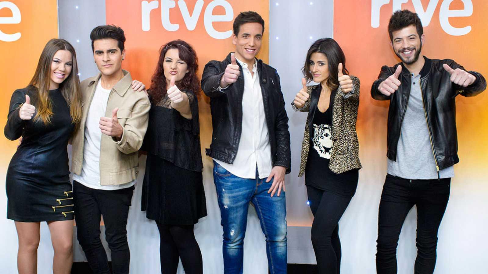 Objetivo Eurovisión con seis aspirantes