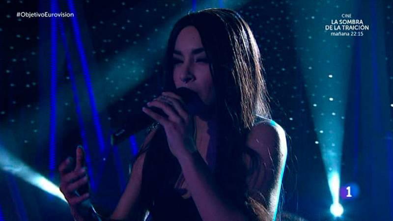 """Loreen canta """"Euphoria"""" en Objetivo Eurovisión"""