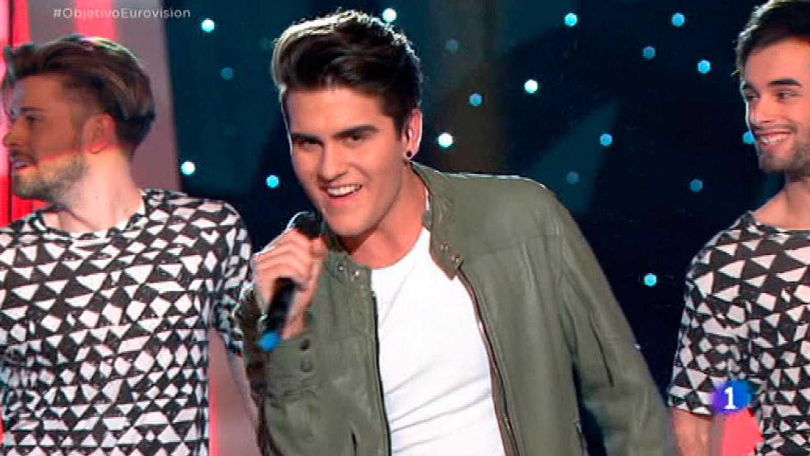 """Maverick canta """"Un mundo más feliz"""" en Objetivo Eurovisión"""
