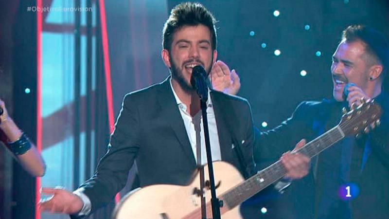 """Salvador Beltrán canta """"Días de alegría"""" en Objetivo Eurovisión"""