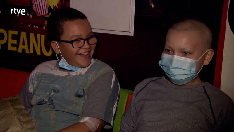 Los niños en los hospitales van al cine con Juegaterapia