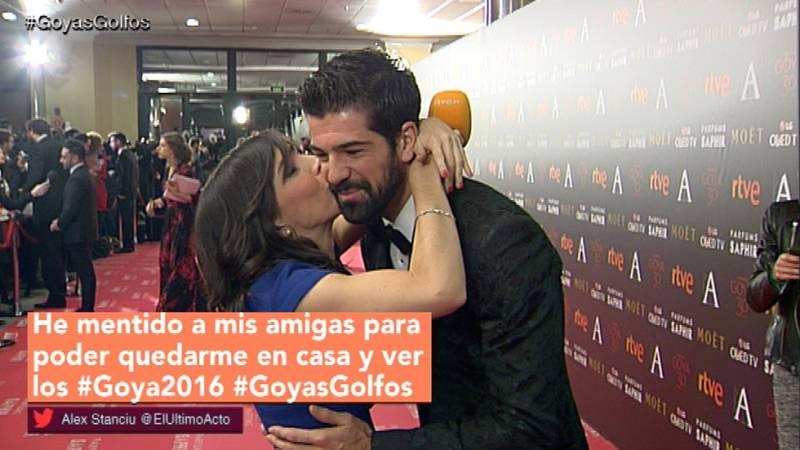 Goyas Golfos 2016: El beso de Miguel Ángel Muñoz