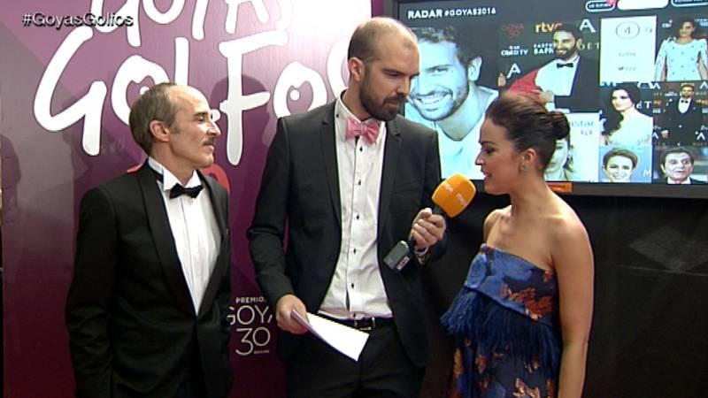 Goyas Golfos 2016: Los protagonistas de 'El Caso' hablan sobre su serie