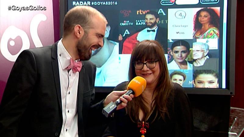 """Goyas Golfos 2016 - Isabel Coixet: """"El spot de los Goya me pareció una mierda"""""""