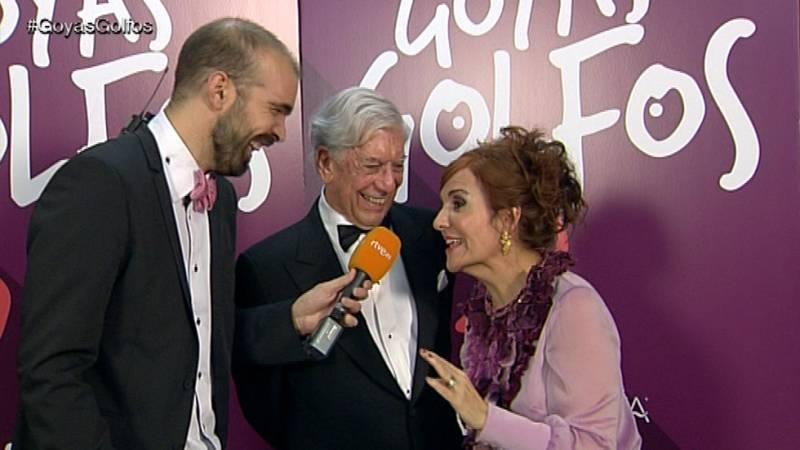 Goyas Golfos 2016 - Entrevistamos a Vargas Llosa, un premio Nobel en los Goya