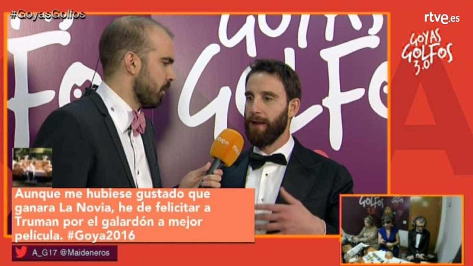Llega lo más emocionante de la ceremonia, con el fallo de los principales premios y las entrevistas más irreverentes de Agustín Alonson desde el backstage.