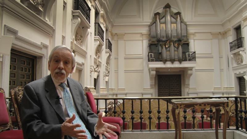 Ismael Fernández de la Cuesta habla sobre la música tradicional