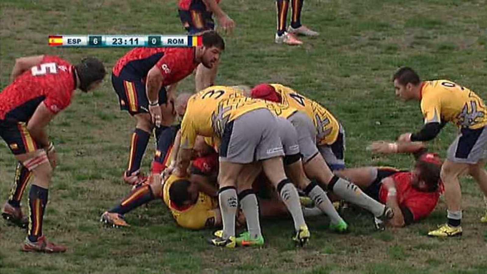 Rugby - Campeonato de Europa de Naciones: España - Rumanía - ver ahora