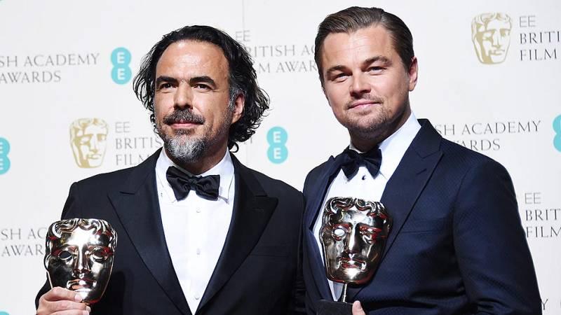 Iñárritu y Di Caprio triunfan en los Bafta con 'El renacido'