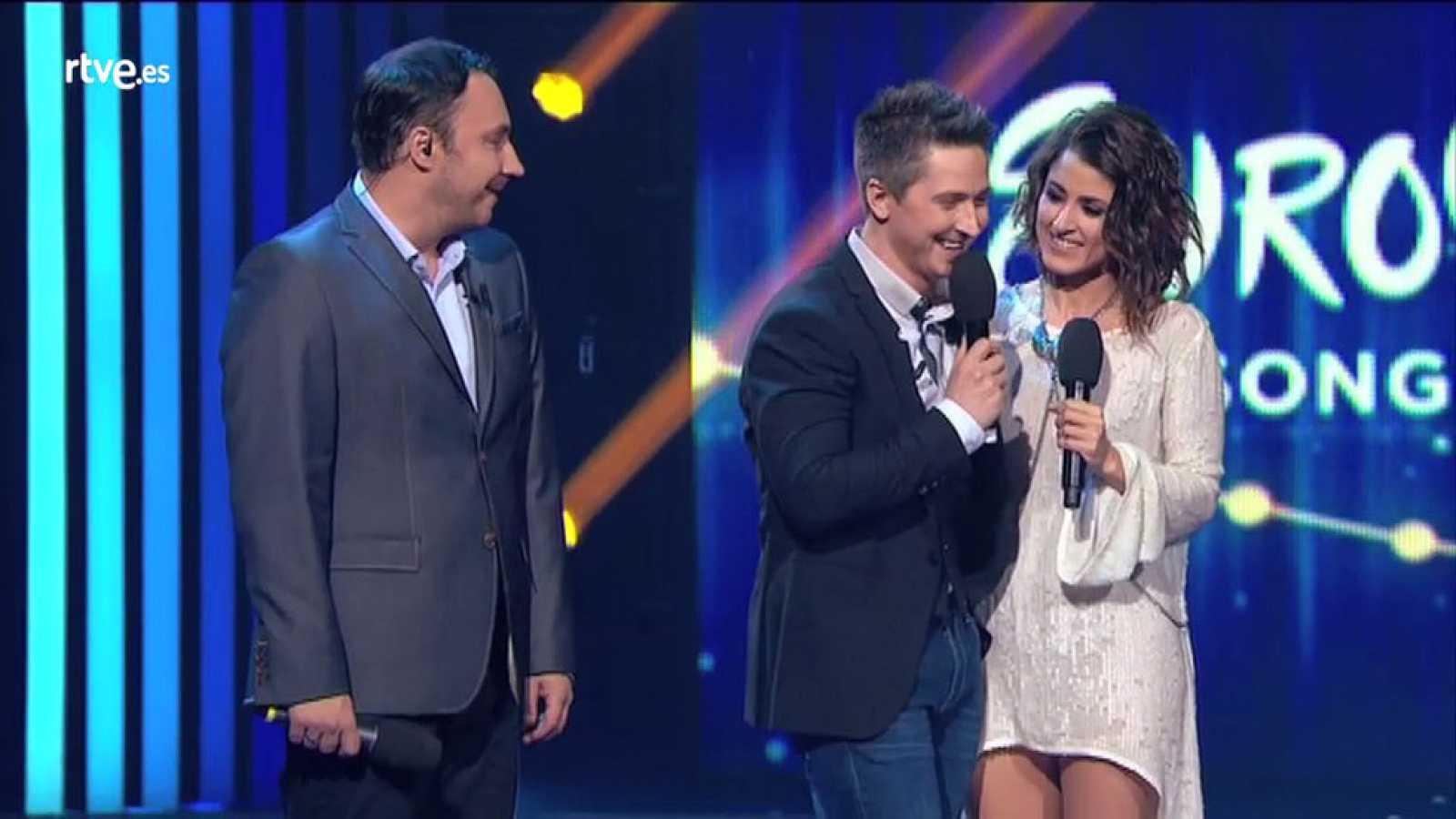 """Eurovisión 2016 - Barei conquista Ucrania con su """"Say yay"""""""