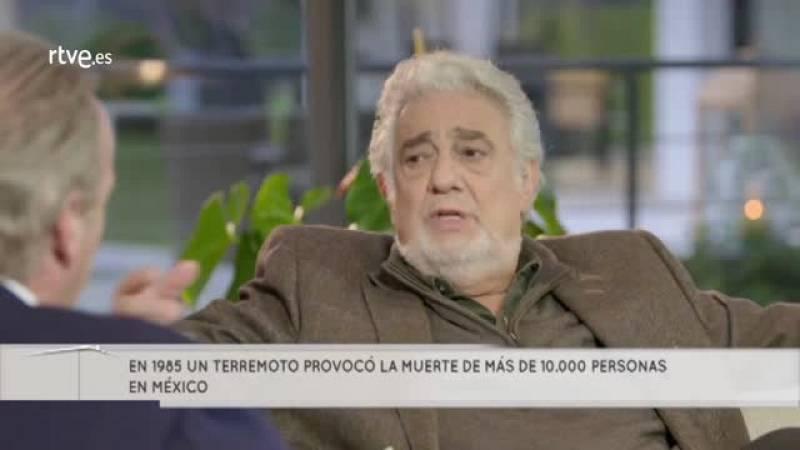Plácido Domingo perdió a varios familiares en un terremoto