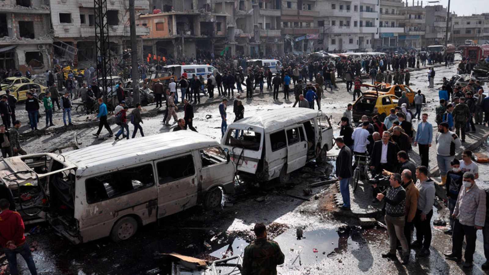 Jornada sangrienta en Siria