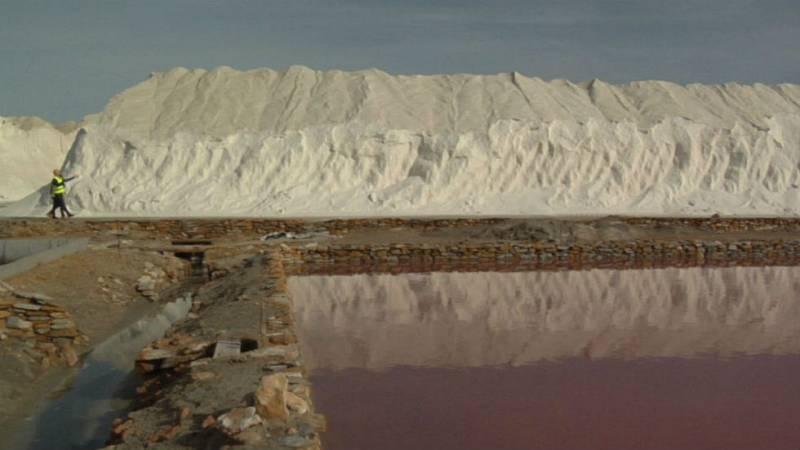 Las bellas montañas de sal
