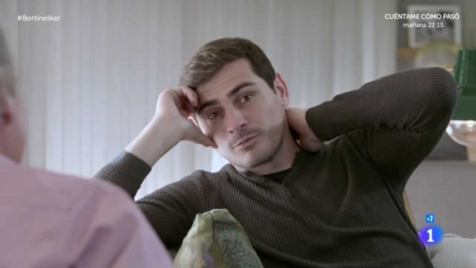 Iker Casillas recuerda su debut en San Mamés