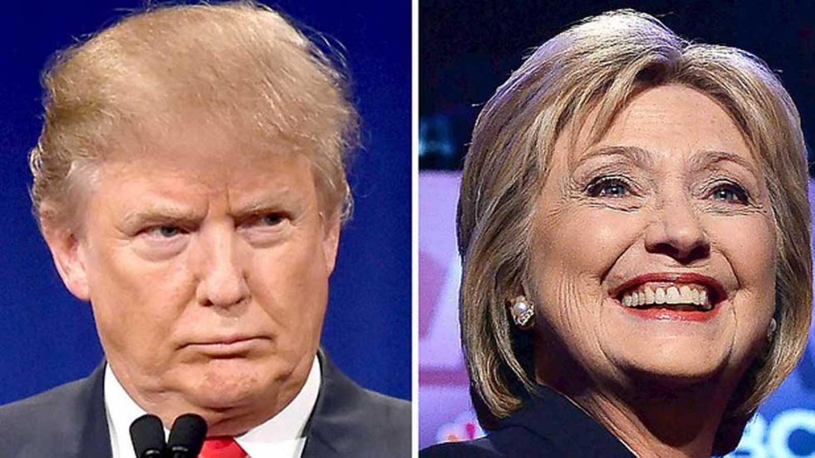 Trump y Clinton allanan su camino como candidatos a la Casa Blanca en el supermartes