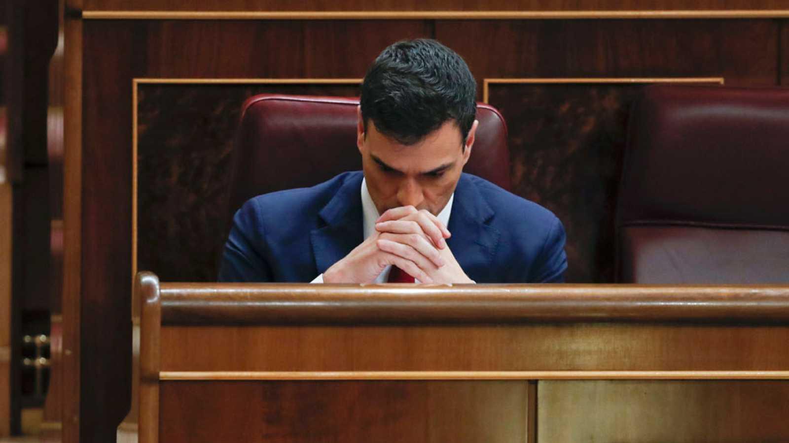 PP y Podemos tumban la investidura de Pedro Sánchez, que solo recibe el apoyo de PSOE y C's