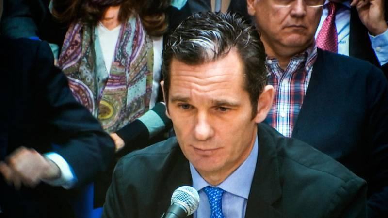 Iñaki Urdangarin desvincula al rey Juan Carlos de sus negocios en el instituto Nóos