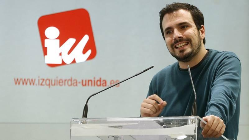 """Garzón: """"No hay pacto posible con el PSOE si va de la mano de ciudadanos"""""""