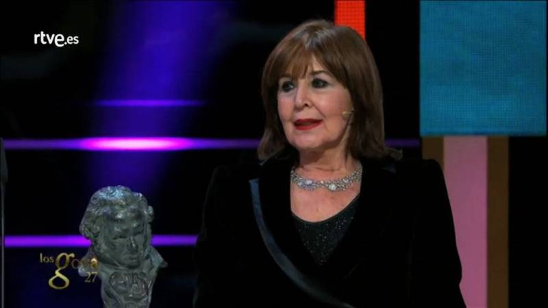 Imprescindibles - Concha Velasco recoje el Goya