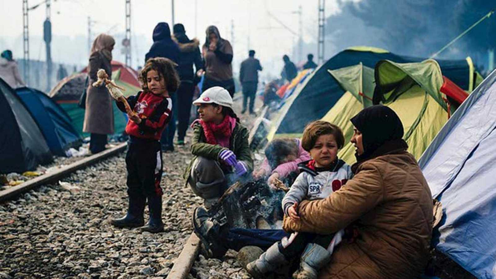 La mitad de los casi 60 millones de personas refugiadas o desplazadas son mujeres