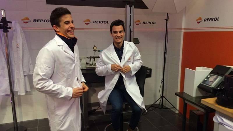 Marc Marquez y Dani Pedrosa ultiman los detalles a dos semanas de que se inicie el Mundial