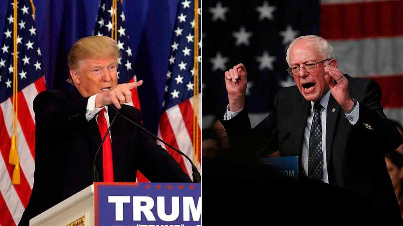 Trump sigue imparable y Sanders sorprende en las primarias de Michigan