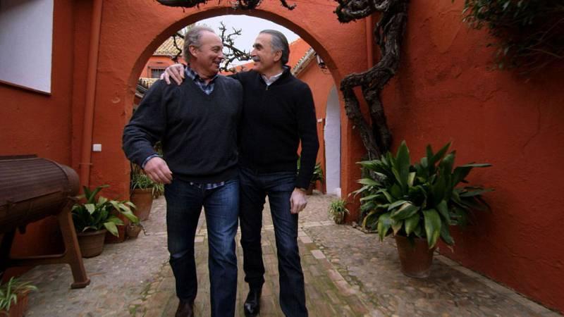 Juan y Bertín se conocieron en un club de alterne