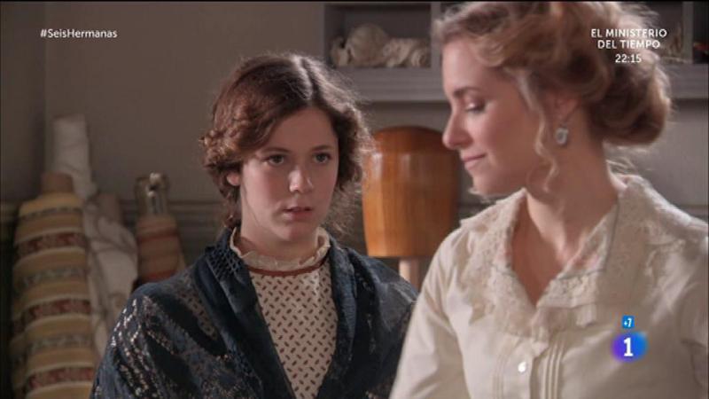 Seis Hermanas- Carolina trata de sobornar a Lorenza