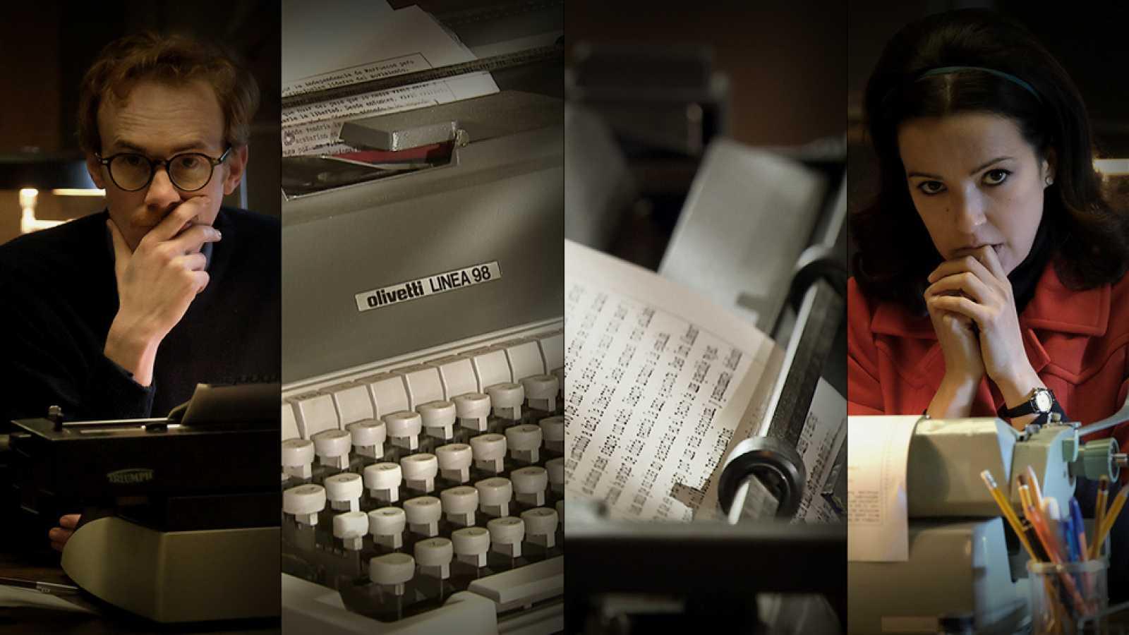 El Caso. Crónica de sucesos -  Máquinas de escribir con medio siglo de historia