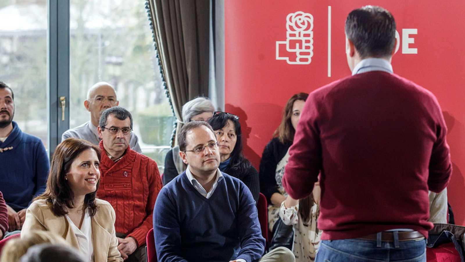 César Luena no entiende que Rajoy siga en funciones