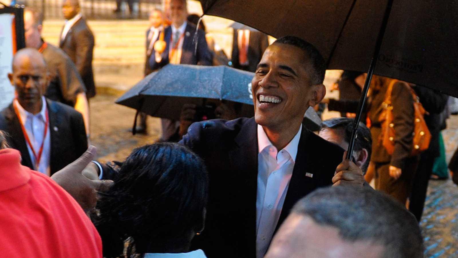 Obama llega a Cuba en una visita histórica que refleja el deshielo entre ambos países
