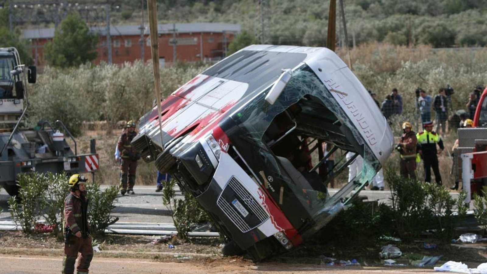 Siguen sin conocerse las causas del accidente en Tarragona