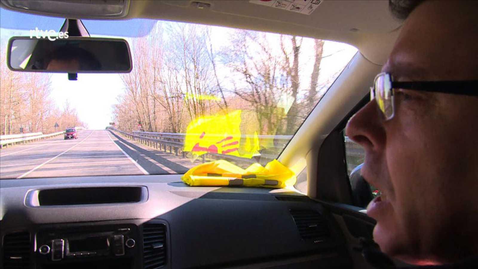 La Nacional 1, en su tramo Burgos-Miranda de Ebro, es una de las carreteras con más víctimas mortales de esa provincia