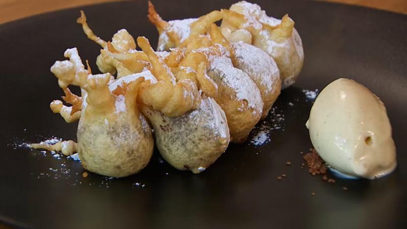 Torres en la cocina - Buñuelos de chocolate