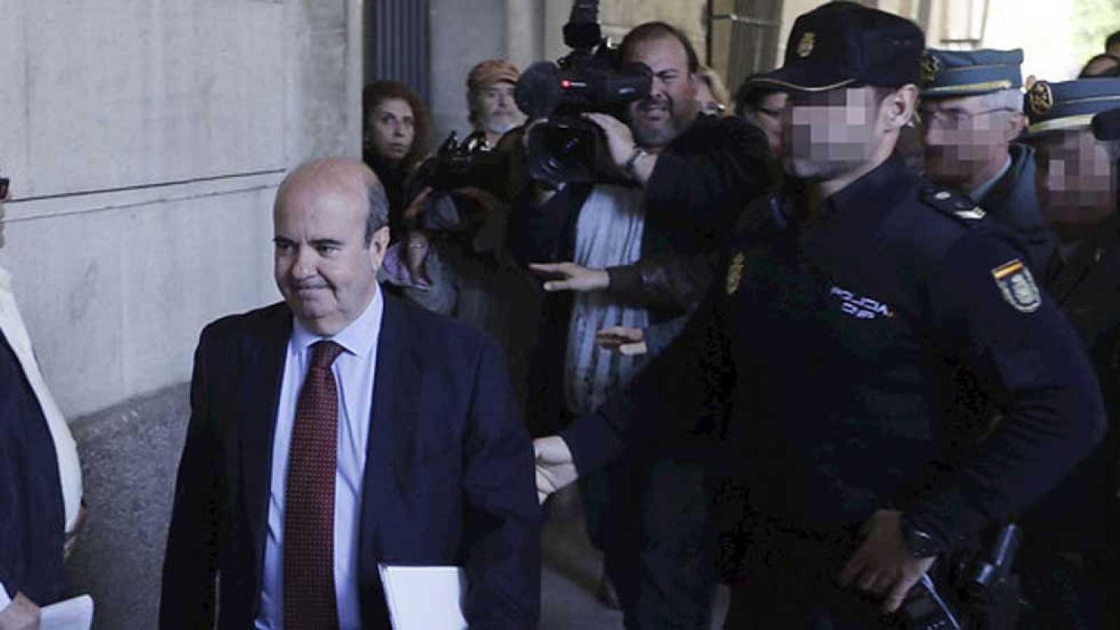 Gaspar Zarrías no declara y ratifica su declaración al supremo por el caso de los ERE