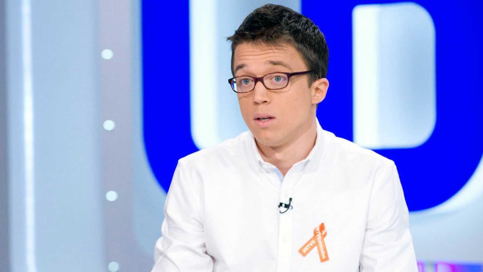 """Errejón: """"En cuestiones de regeneración democrática podemos entendernos con Ciudadanos"""""""