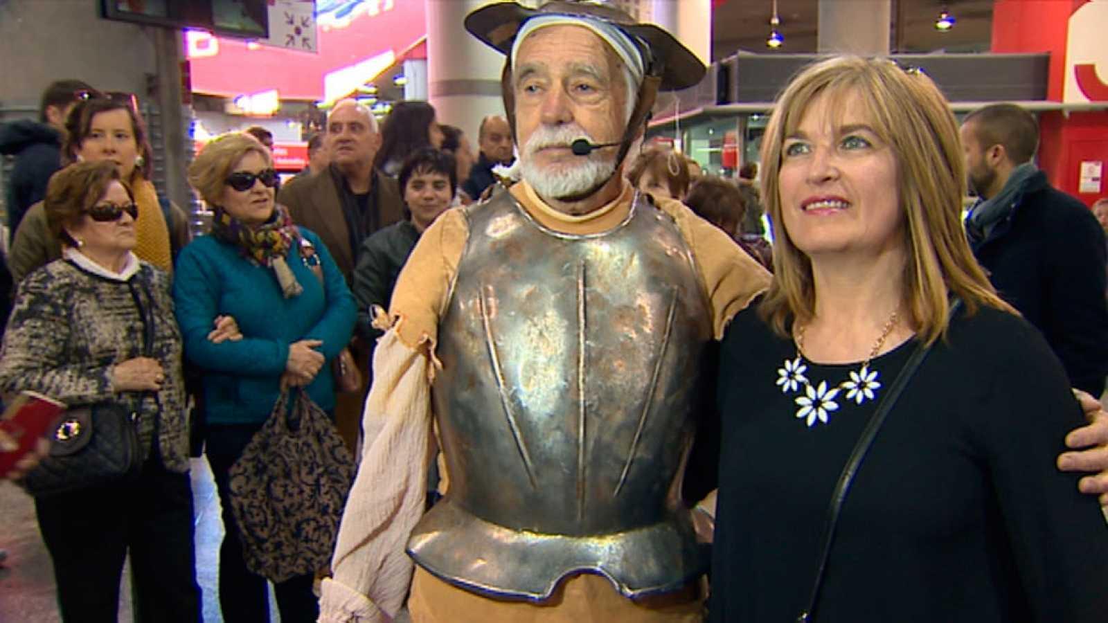 Un viaje en el tiempo para conocer a Cervantes