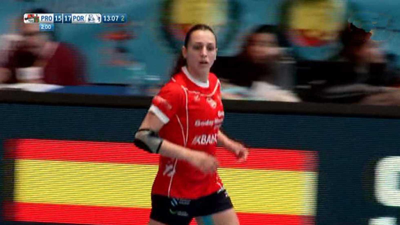 Balonmano - Copa SM La Reina. 2ª semifinal: Prosetecnisa Zuazo-B.M. Porriño - ver ahora