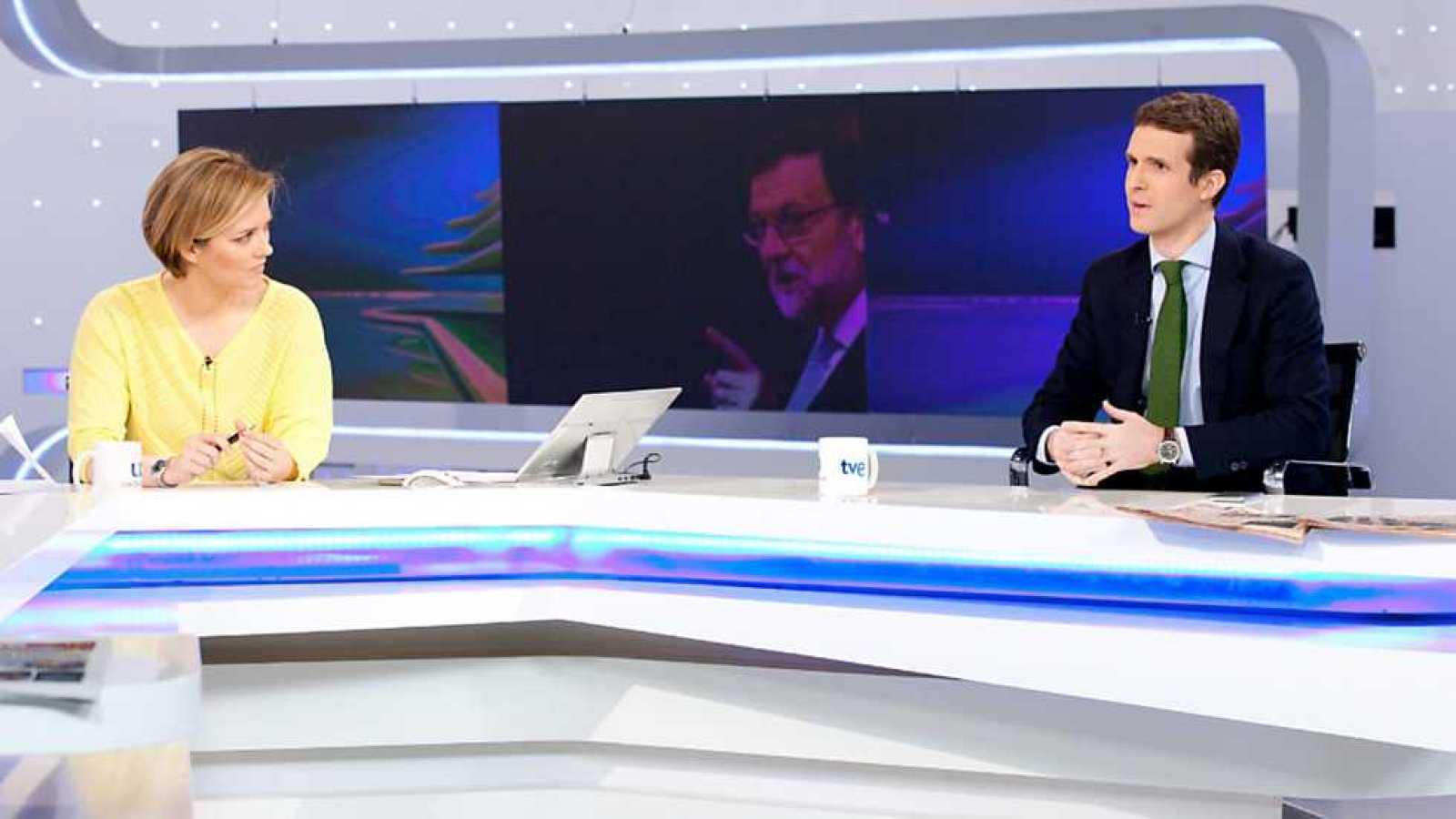 Los desayunos de TVE - Pablo Casado, vicesecretario de comunicación del PP - Ver ahora