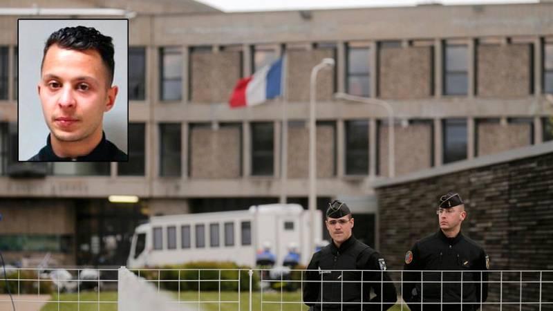 Salah Abdeslam ya está en manos de la justicia de Francia