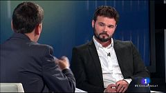 El debat de La 1 - Entrevista Gabriel Rufián