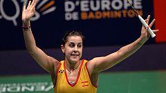 Carolina Marín gana su segundo Europeo de bádminton