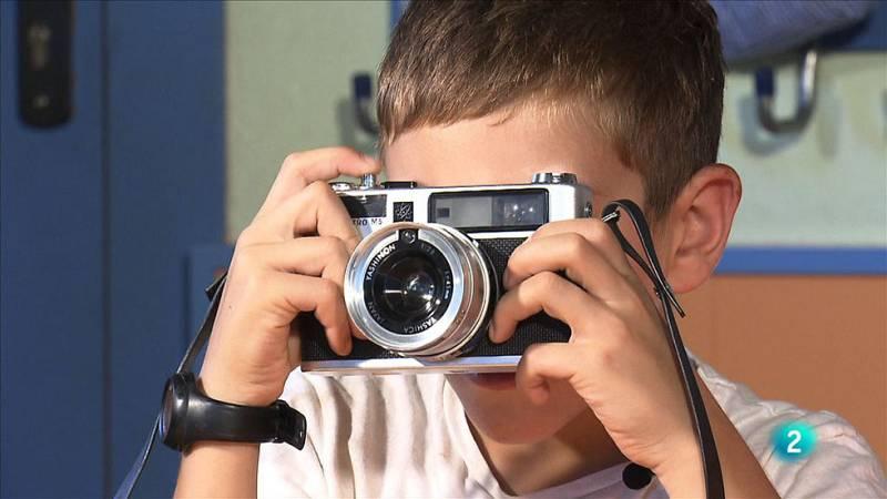 La càmera de fotos de rodet