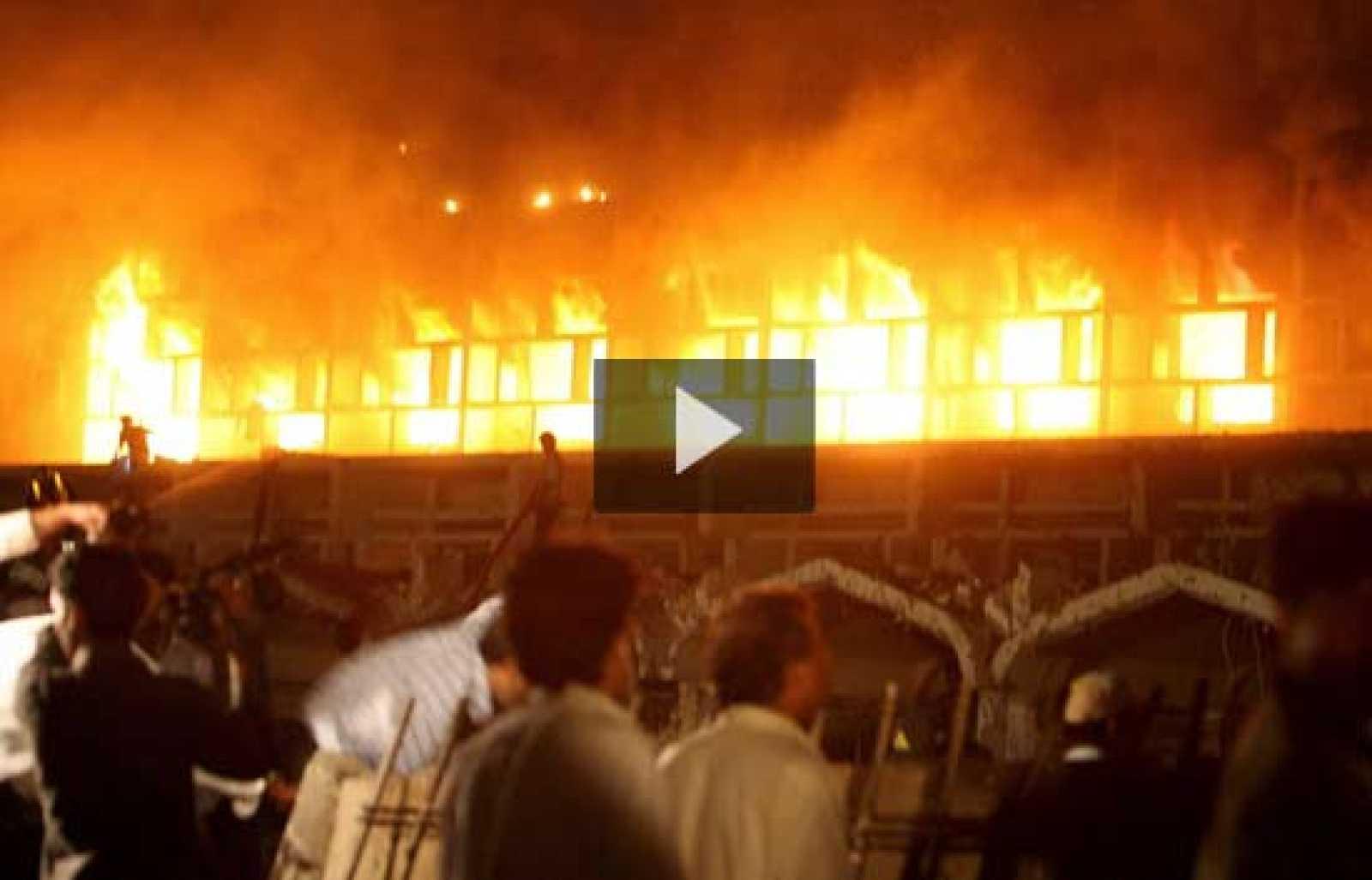 Masacre en un hotel de Pakistán